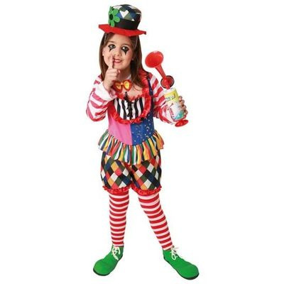 Foto van Clown kostuum meisje