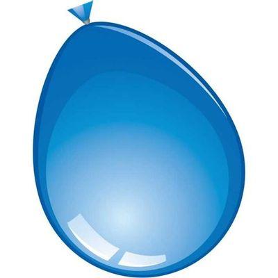 Mega ballon blauw (74cm) 25st
