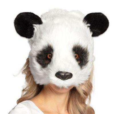 Masker panda pluche