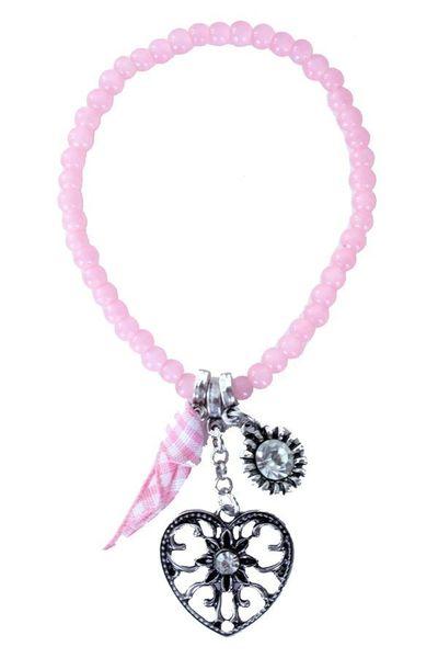 Oktoberfest armband roze