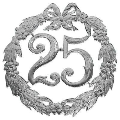 Jubileumcijfer 25