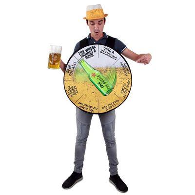 Foto van Het rad van bier kostuum