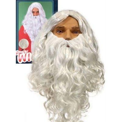 Kerstmanset lang wit