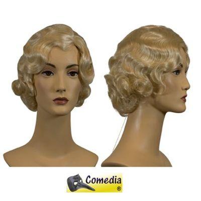 Theaterpruik Marcel-wave blond