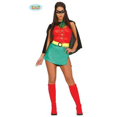 Robin kostuum dames (batman)
