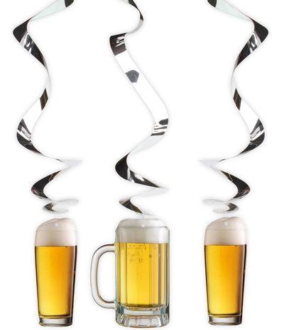 Bier decoratiespiralen