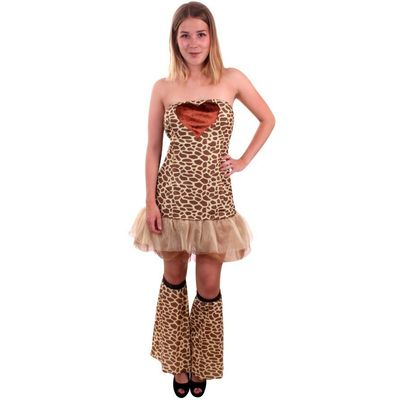 Giraffe kostuum dames