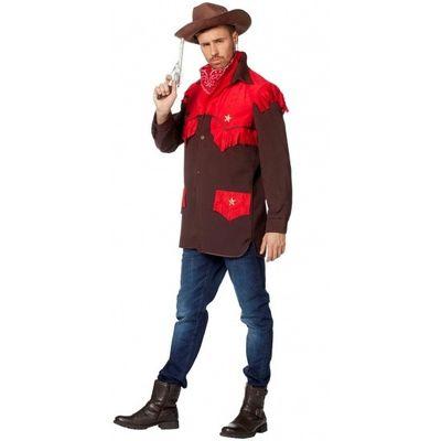 Cowboy shirt rood