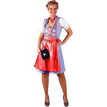 Dirndl jurk (grote maat) Sonja