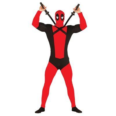 Foto van Deadpool kostuum