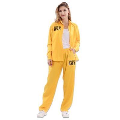 Vis a Vis gevangenis pak geel