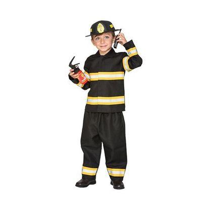 Foto van Brandweerman pak kind