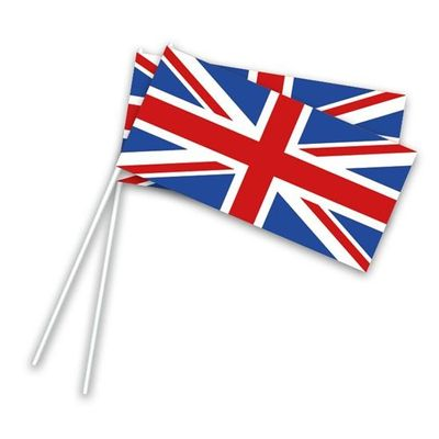 Zwaaivlaggetjes Engeland