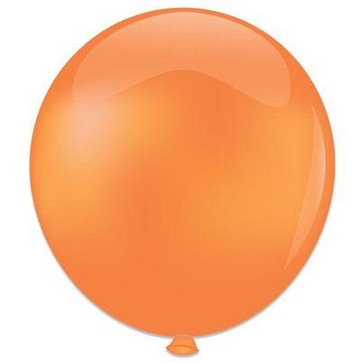 Topballon zalm (91cm) 6st