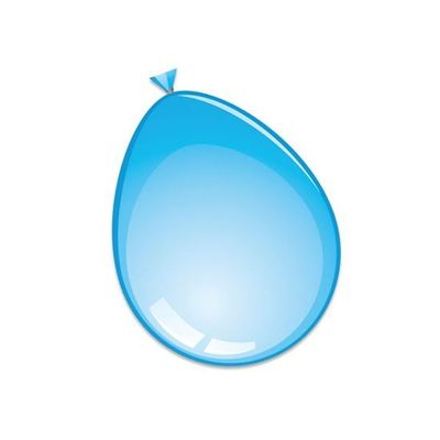 Ballonnen licht blauw (30cm) 50st