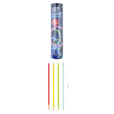 Glow in the dark sticks - 100st