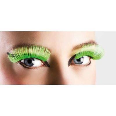 Neon wimpers groen XL