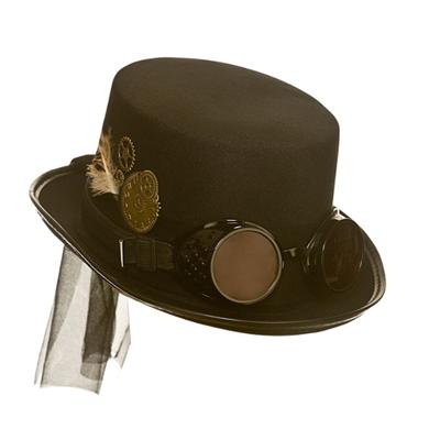 Foto van Hoge hoed steampunk