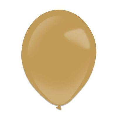 Ballonnen mocha brown (13cm) 100st