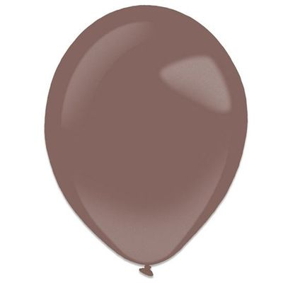 Ballonnen burgundy metallic (28cm) 50st
