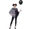Afbeelding van Halloween poncho horror clown