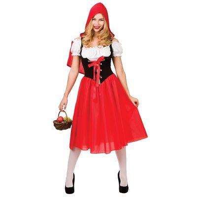 Roodkapje kostuum