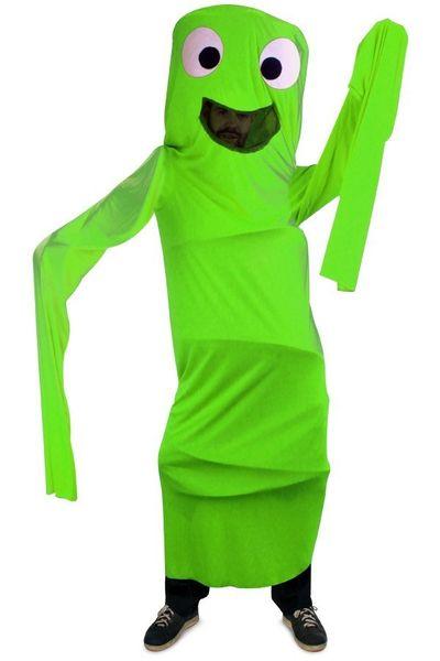 Funny windsock kostuum kind - groen