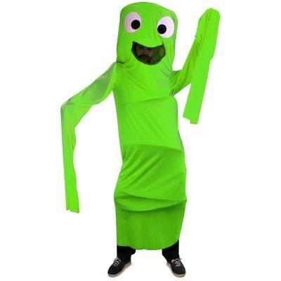Foto van Funny windsock kostuum kind - groen