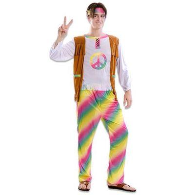 Foto van Hippie kostuum regenboog