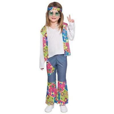 Foto van Hippie kostuum meisje