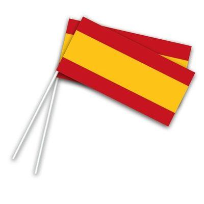 Foto van Zwaaivlaggetjes Spanje