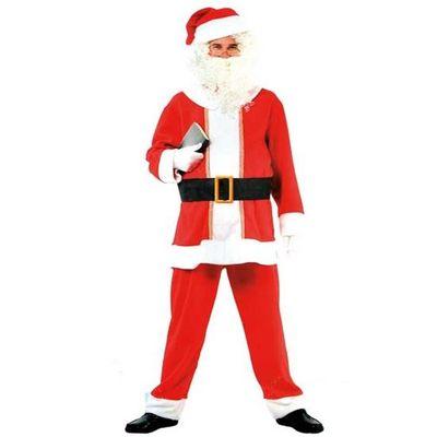 Kerstman kostuum compleet