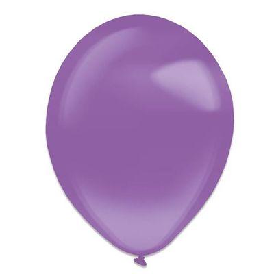 Ballonnen purple crystal (13cm) 100st