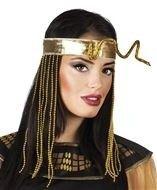 Egyptische hoofdband met slang