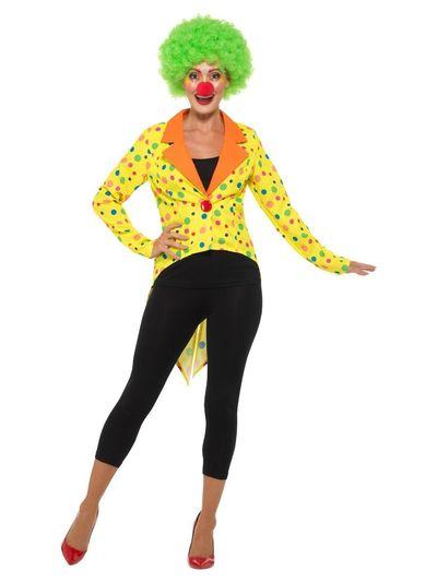 Clowns slipjas dames