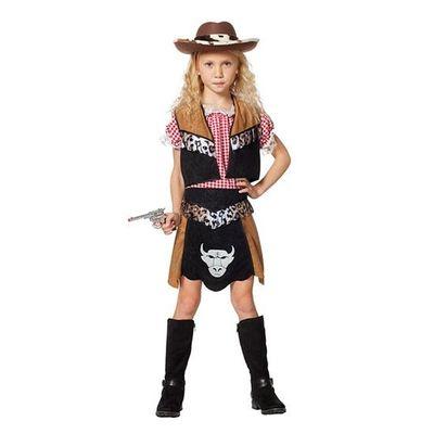 Cowgirl kostuum meisje
