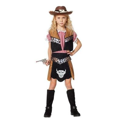 Foto van Cowgirl kostuum meisje