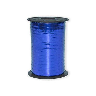 Foto van Ballon Lint Metallic Blauw 5mmx400m