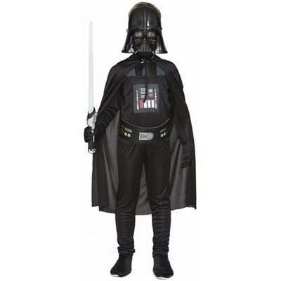 Foto van Darth Vader kostuum kind