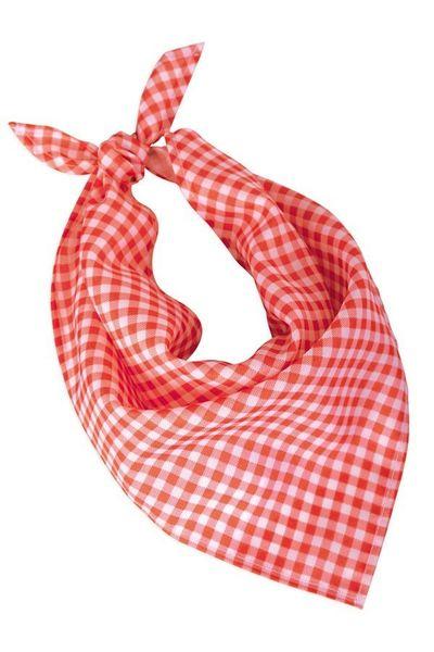 Oktoberfest halsdoek rood/wit