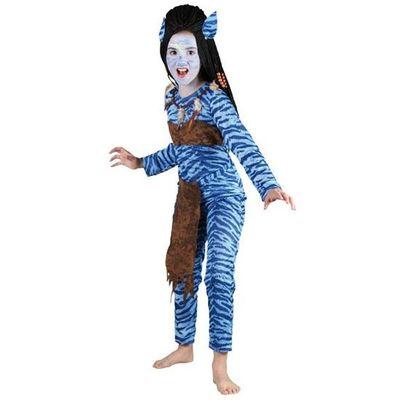 Foto van Avatar kostuum meisje