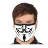 Afbeelding van Mondkapje V for Vendetta