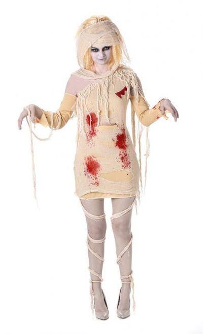 Mummie kostuum dames