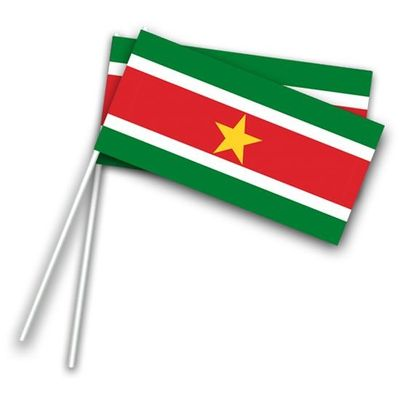 Zwaaivlaggetjes Suriname