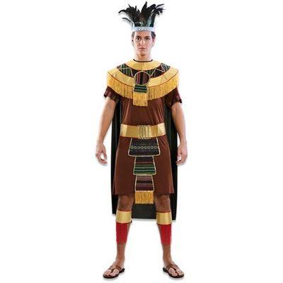 Indianen kostuum aztec