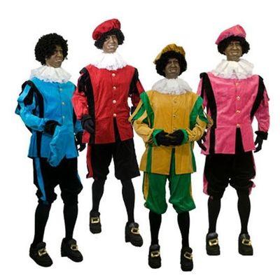 Piet kostuum fluweel