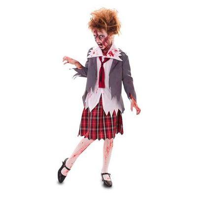Foto van Zombie schoolmeisje - kind