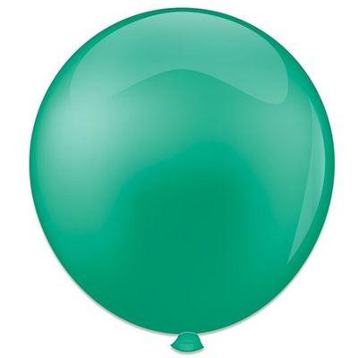 Topballon lichtgroen (91cm) 6st