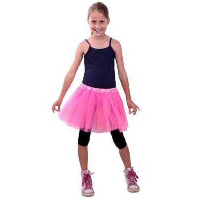 Foto van Tule rokje roze meisjes one size