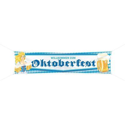Oktoberfest straatbanner